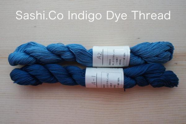 Indigo Dye Sashiko Thread 1